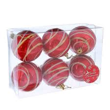 <b>Украшение сима-ленд набор шаров</b> орион 6шт red 2178213 ...