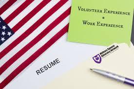 volunteer experience work experience