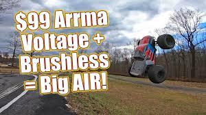 Cheap <b>RC</b> Truck Gets <b>Big Power</b>! - Arrma Granite Voltage Brushless ...