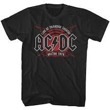Acdc живут в Бостоне 1978 мужская <b>футболка</b> рай театр живой ...