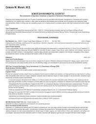 environmental science resume sample resumecareer info environmental science resume sample resumecareer info environmental