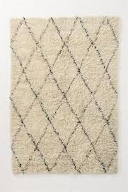 pattern rug area white contemporary area rug from anthropologie model black and white