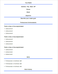 basic resume template –    free samples  examples  format    basic format resume template