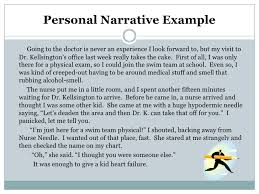 sample story essay personal narrative writing examples