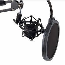 Microphone Stand <b>Desktop</b> Mic Clip Holder Tripod Nb35 Live ...
