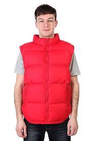 Купить <b>жилет Urban Classics Basic</b> Bubble Vest Red в интернет ...