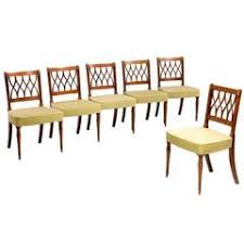 hepplewhite shield dining chairs set: set of six george iii period dining chairs