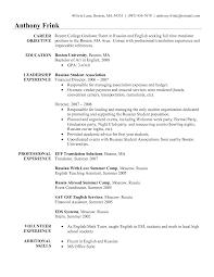 Esl Teacher Resume Sample  english teacher resume samples sample