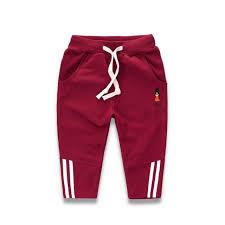 Boys <b>New</b> Casual Spring <b>Cotton</b> Pants <b>Kids Sports</b> Sweatpant ...