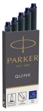 Купить Картридж для перьевой <b>ручки</b> PARKER Quink Z11 (5 шт.) в ...