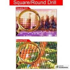 <b>5D DIY Diamond</b> Painting Kits Round picture of Rhinestones Draw ...