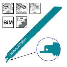 <b>Полотно</b> биметаллическое для сабельной пилы <b>Makita 225 мм</b> (B ...