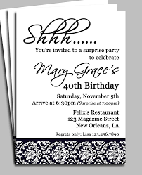 surprise birthday party invitations com surprise birthday party invitations for a new style party by adjusting a very decorative invitation templates printable 12