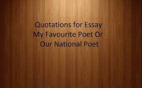 fsc i c s f a java c notes fsc ics fa quotes intermediate part fsc ics fa quotes intermediate part 2 english essays quotations my favourite poet or our national