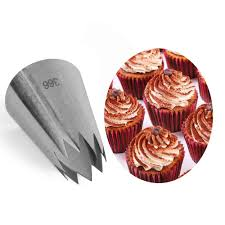 Large <b>Ice Cream Nozzles Pastry</b> Cake Decorating Tools Icing Piping ...