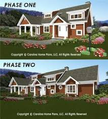 Expandable House Plans from Carolina Home Plans    Build in Stages    Flexible small expandable house plans  Adaptable house plans for small budgets  Small expandable houseplans  smart solutions for building houseplans in