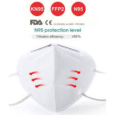 10 KN95 N95 Anti-Virus Anti-Dust PM2.5 Protective <b>Face Mask</b> CE ...