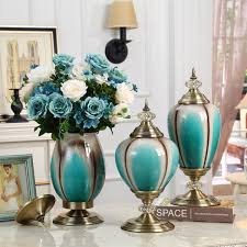 Neo Classical Luxury <b>European</b> Ceramic <b>Vase</b> Figurines Decoration ...