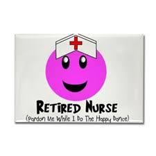 Retired Nurse Magnets | Retired Nurse Refrigerator Magnets - CafePress