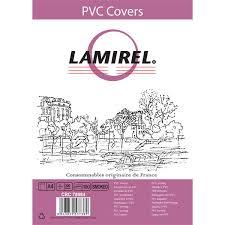 Купить <b>Обложка</b> для переплета <b>Lamirel Transparent A4</b>, PVC ...