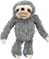 Ethical Pet <b>Fun</b> Sloth <b>Plush Dog Toy</b>, Color Varies, 13-in - Chewy.com