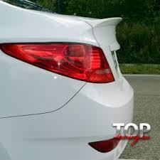 <b>Спойлеры</b>, элероны НА Hyundai Solaris