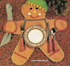 cute gingerbread man <b>placemat</b> | Gingerbread crafts, Crafts ...