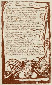 analysis of william blake s poems a divine image and the human a page from scan of book containing a series of series of reproductions a work