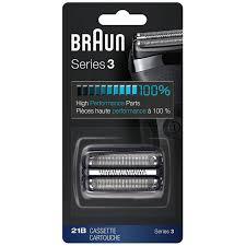 Braun Combi <b>21B</b> Series 3 <b>Replacement</b> Cassette <b>Foil</b> & <b>Cutter</b> Pack