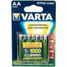Отзывы о <b>Аккумуляторы Varta</b> Professional 2700 mAh