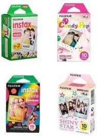 <b>Fujifilm</b> Instax Mini White(10X2), Candy Pop, Rainbow, <b>Shiny Star</b> ...