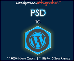 PSD to WordPress Conversion & Theme Integration Service
