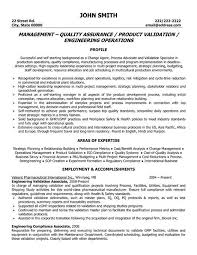 click here to download this quality assurance manager resume template httpwww management resume format