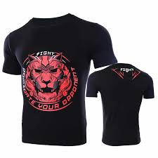 <b>VSZAP</b> Fitness Men Tshirt Short Sleeve Lotus Printed Quick Drying ...