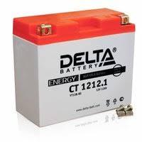 """«<b>АКБ</b> """"<b>DELTA</b> MOTO"""" CT 1212.1 AGM YT12B-BS (12Ач п/п ..."""