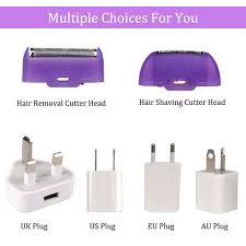 Online Shop <b>USB Rechargeable Women Epilator</b> Portable Hair ...