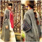 Аппликация пальто
