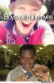 Boys With Blue Boys. by bakoahmed - Meme Center via Relatably.com