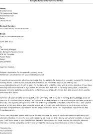 cover letter template for nursing  tomorrowworld conursing resume cover letters sample nursery nurse cover letter