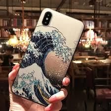 3D <b>Embossed</b> Ukiyo-e <b>Mobile</b> Case - The <b>Great</b> Wave in <b>2019</b> ...