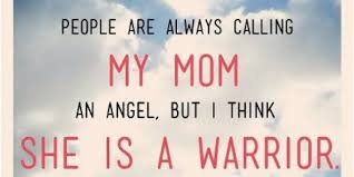 my mother the angel my mother the warrior the huffington post