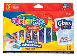 <b>Набор для творчества</b> Colorino <b>Glass</b> Paints CL34210PTR 10 цв ...