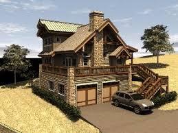 Homes   Garage Under House Plans Tuck Under Garage House Plans