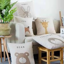 <b>Cute</b> Kawaii <b>Adorable Rabbit</b> Cushion Pet <b>Bear</b> Porcupine Giraffe ...