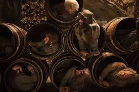 the hobbit trilogy connecting the dots and filling the blanks barrels