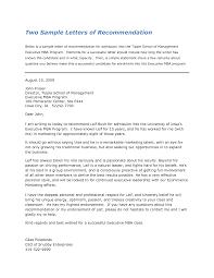 letter of recommendation mba recommendation letter 2017 letter