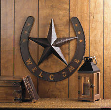 metal star wall decor: item  western star wall decor   quot high metal brown