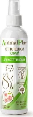 """<b>Спрей</b> репеллентный для котят и кошек """"<b>Animal Play</b>"""", от клещей ..."""