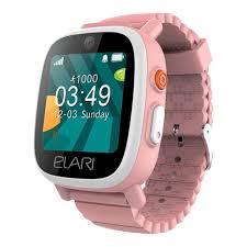 <b>Elari FixiTime</b> Kids 3 bērnu GPS viedpulkstenis-telefons, rozā (<b>Pink</b> ...