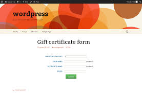 gift certificate creator bobcares giftcertificate